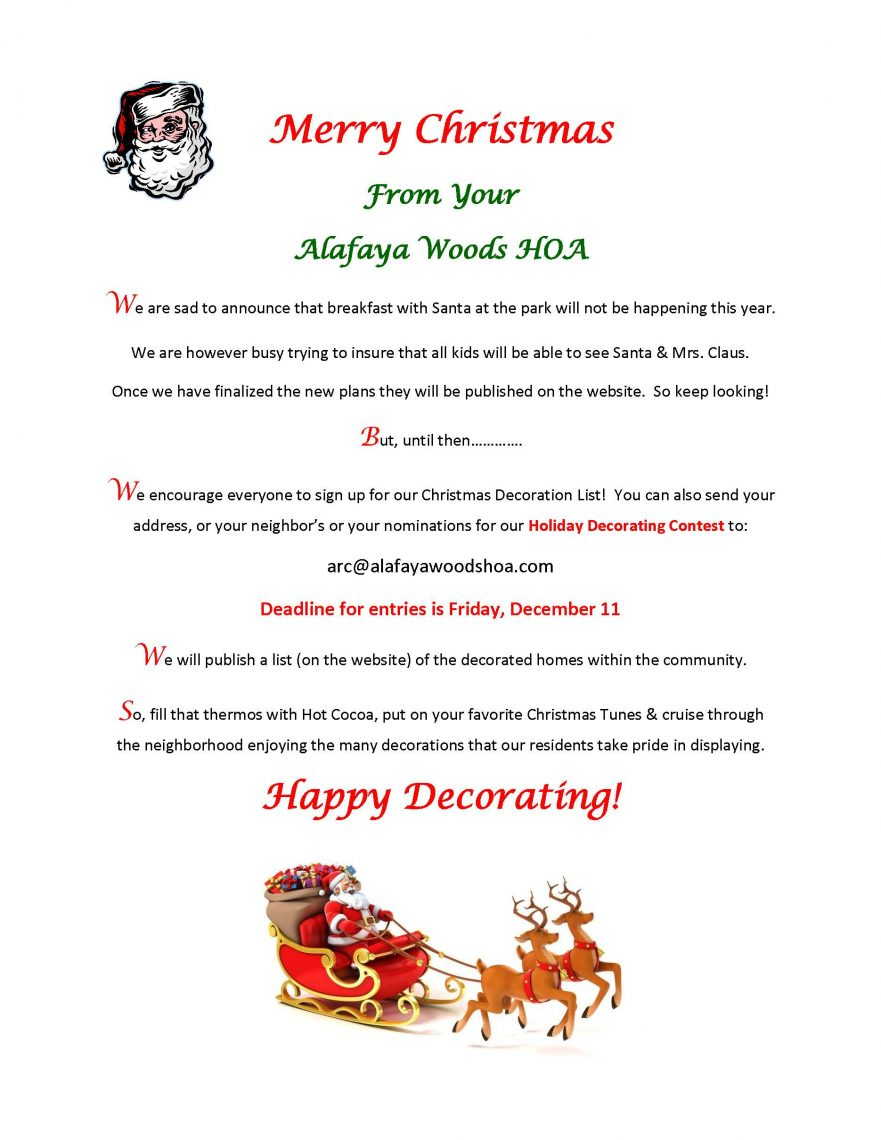 Merry Christmas 2020 Flyer